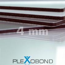 PLEXOBOND Alu-Verbund-Platten, 4 mm, weiß