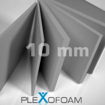 PleXofoam PVC-Schaumplatten, 10 mm, grau