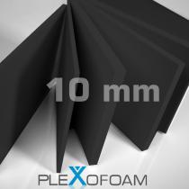 PleXofoam PVC-Schaumplatten, 10 mm, schwarz